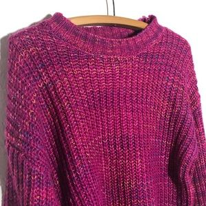 Band of Gypsies Sweaters - Band of Gypsies Marled Long Sleeve Sweater NEW